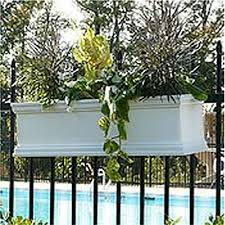 1 5 Fence Rail Hooks For Window Boxes And Planters