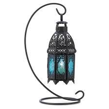 alluring metal lantern glass candle