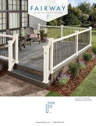 Mlc001 07 Fairway Product Catalog 2019 By Fairway Architectural Railing Solutions Issuu