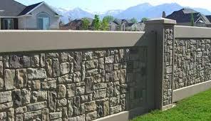 Custom Brick Fences Brick Fence Compound Wall Design Fence Design