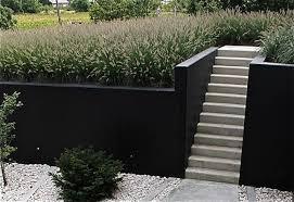 Painted Retaining Wall Concrete Retaining Walls Landscaping Retaining Walls Painting Concrete Walls