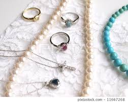 jewelry collection accessories such as