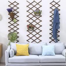 wood fence expanding wooden garden wall