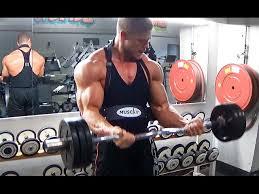 arm blaster back bicep workout