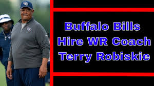 The Buffalo Bills Hire Terry Robiskie as WR Coach - YouTube
