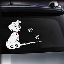 New Cartoon Funny Dalmatian Dog Moving Tail Stickers Reflective Car Stickers Car Styling Rear Window Windshield Wiper Decals Car Sticker Reflective Car Stickerrear Window Aliexpress