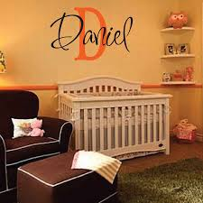 Daniel Wall Decal Personalized Room Childrens Wall Art Custom Name Vinyl Wall Sticker For Kids Room Home Decor 38x58cm Sticker For Kids Room Vinyl Wall Stickerswall Stickers For Kids Aliexpress