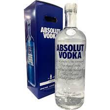 absolut vodka 4 5 litres big bottles