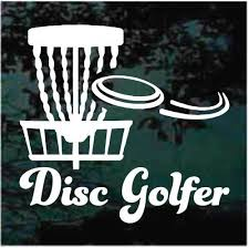 Disc Disc Golf Basket Car Window Decals Stickers Decal Junky