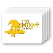 Amazon Com Future Hufflepuff On Board Harry Potter Inspired Vinyl Car Laptop Decal Handmade