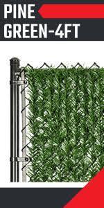 Amazon Com Fenpro Hedge Slats For Chain Link Fence 6 Ft Garden Outdoor