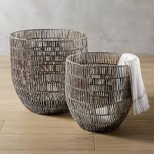 metal storage baskets metal wire