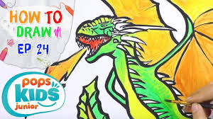 Sắc Màu Tuổi Thơ - Tập 24 - Bé Tập Vẽ Rồng Trong Phim Game Of Thrones   How  To Draw A Dragon - YouTube
