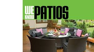our patio furnitue and accessories were