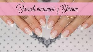 French Manicure Elisium Bialy Flexygel White Flexygel Youtube