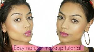 quick easy natural makeup tutorial no