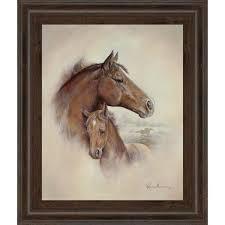 race horse ii by ruane manning framed