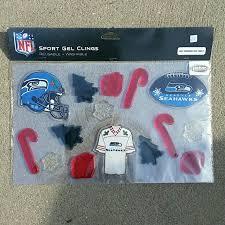 Jackets Coats Nfl Seattle Seahawks Gel Window Clings Poshmark