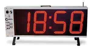 Pace Clocks / Shot Clocks – Colorado Time Systems