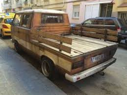 double cab beater with wood bed