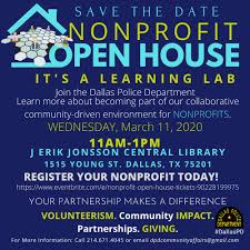 NONPROFIT OPEN HOUSE LEARNING LAB - 11 MAR 2020