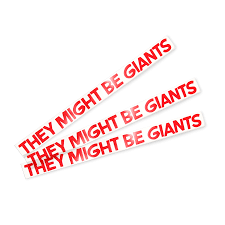 They Might Be Giants Tmbg College Window Sticker 3 Pack
