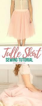 layered tulle skirt tutorial
