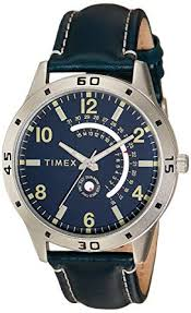 timex og blue dial men s watch