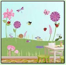 Butterfly Garden Bedroom Decorating Butterfly Decorations Butterfly Wall Mural Butterfly Wall Decals Garden Themed Bedroom Decorating Ideas Garden Cottage Murals Flower Decorations Floral Garden Themed Bedding