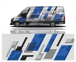 Premium Vector Van Car Decal Wrap