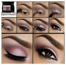eye makeup tutorials for purple