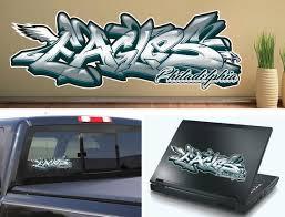 philadelphia eagles graffiti vinyl