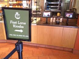 """Aaron Ferber on Twitter: """"Nicely done @panerabread - Fast Lane Kiosk is  really well executed. I genuinely jumped the line! http://t.co/F3SDsRGpco"""""""