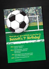 Soccer Birthday Invitations By Sassypartydesigns On Etsy Fiestas