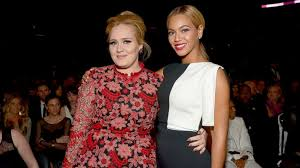 Adele's and Beyonce's admiration for each other goes back years ...