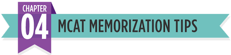 mcat memorization list and tips the
