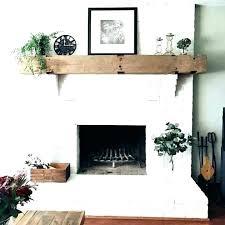 painted brick fireplace ideas sunrise