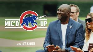 Cubs Hall of Fame Pitcher Lee Smith | Mic'd Up - YouTube