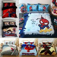spider man homecoming bedding set 3pcs