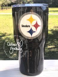 Steelers Tumblers Tumbler Cups Diy Glitter Tumbler Cups Diy Cups