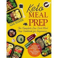 Keto Meal Prep - By Adele Baker (Paperback) : Target