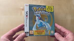 Unboxing Pokemon Silver 3DS Retail Package Download Code (UK) - YouTube