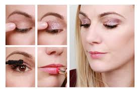 runway to real life pink glitter eye makeup beauty unboxed