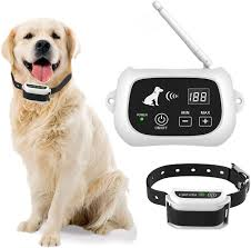 Amazon Com Inchoi Wireless Dog Fence Dog Containment System Ip65 Waterproof Boundary Container Adjustable Pet Training Collar Receiver Harmless For All Dogs White Inchoi Pet Supplies