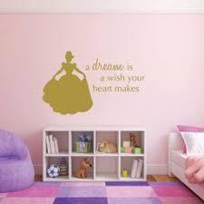 Disney Princess Wall Decals Cinderella A Dream Is A Wish Your Heart Makes Customvinyldecor Com