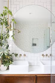 round bathroom mirror inspirations