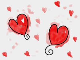 صور لـ خربش حب أحمر رسم قلوب رسم الأشكال