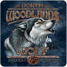 Wolf Woodlands 3 Pack Of Vinyl Decal Stickers 5 For Laptop Car Walmart Com Walmart Com