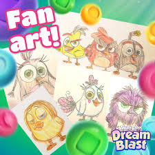 Here's some Sunday fan art inspiration!... - Angry Birds Dream ...