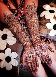 Full Hand Bridal Mehndi Design Hd